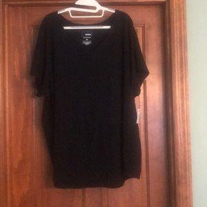 BNWT BLACK Sonoma Cotton T shirt